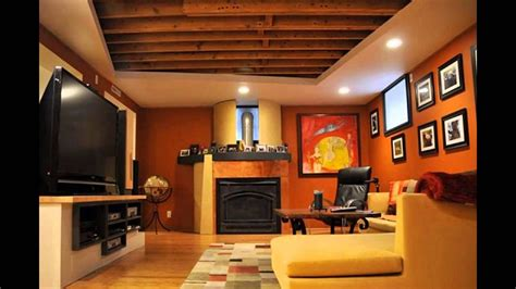 interesting finished basement wall and floor paint color ideas youtube