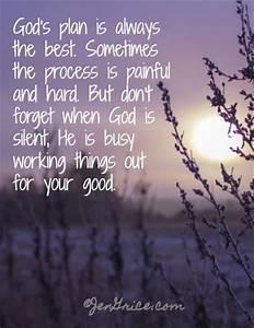 Best 25+ Gods plan quotes ideas on Pinterest | Trust gods ...