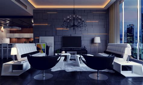 Kitchen Wall Painting Ideas - 25 modern living rooms with cool clean lines