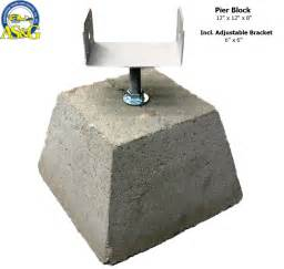 Deck Supports Home Depot by Deck Post Pier Blocks Deck Design And Ideas