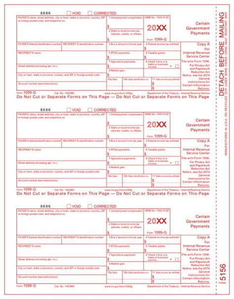 irs approved 1099 g tax forms file form 1099 g certain
