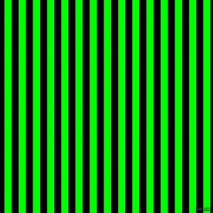 Image Gallery lime green and black
