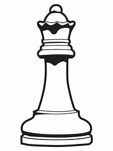 """Queen Chess Piece"" Stickers by DetourShirts 