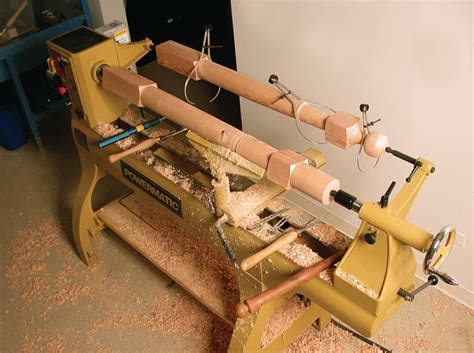 powermatic  model    wood lathe  rpm digital readout power wood