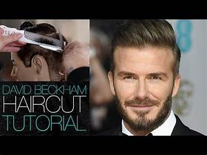 DAVID BECKHAM Haircut Tutorial - Mens Disconnected ...
