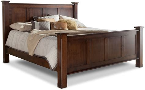 denno 39 s furniture bedding treasure king bed w std height footboard by daniel 39 s