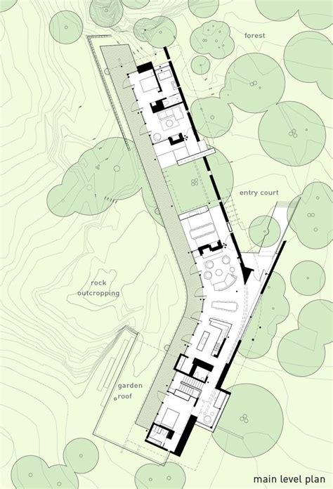 topography  trees nice context floorplans represent architecture plan architecture
