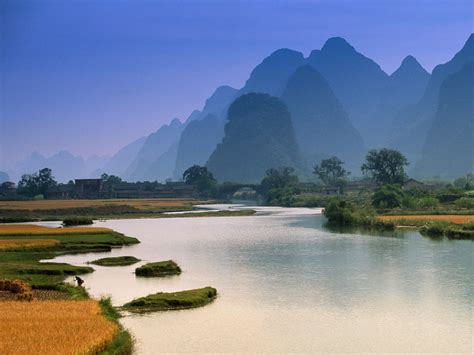 lijiang li river wallpaper travel hd wallpapers