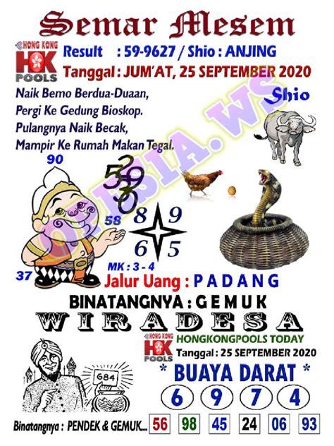 syair hk batik  september  code syair jitu