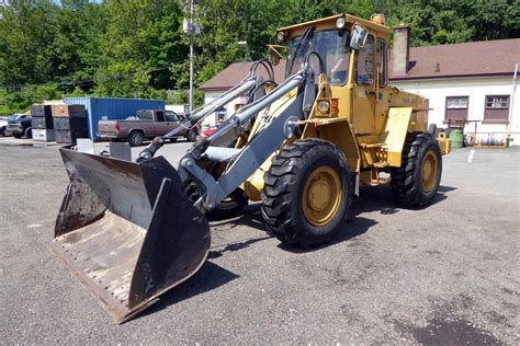 1992 volvo l70 wheel loader for sale by arthur trovei sons used equipment dealer
