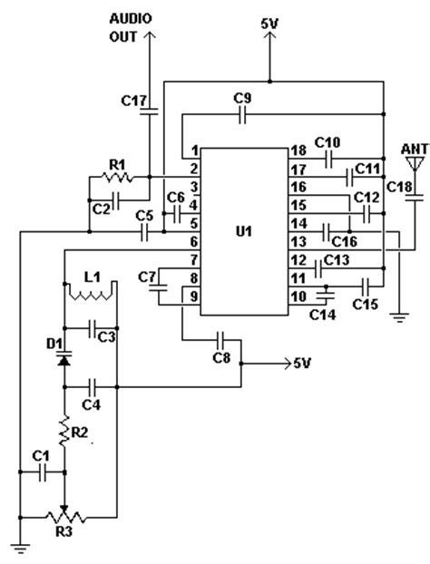 Mhz Simple Radio Receiver Circuit