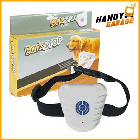 anti bell hunde halsband bark erziehungshalsband