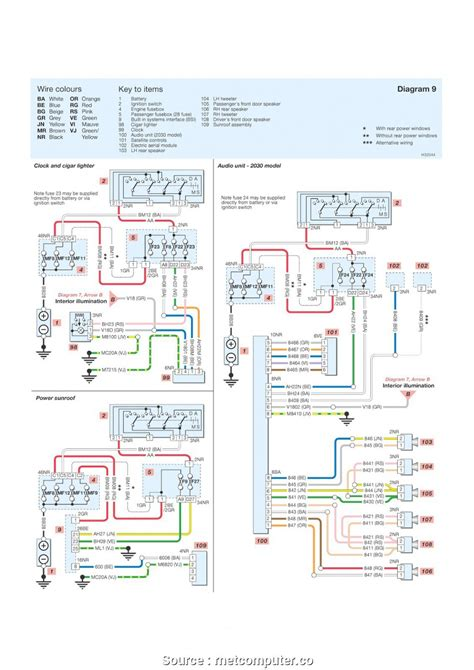 peugeot 307 light wiring diagram wiring library