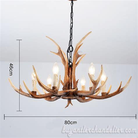 antler chandelier cheap 6 cast antler chandelier pendant light rustic home
