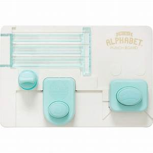 we r memory keepers mini alphabet punch board buy punch With we r memory keepers letter punch