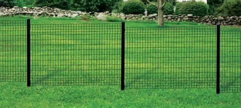 black euro fence panel  menards fences