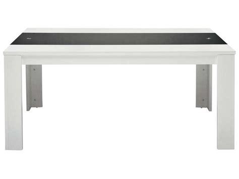 table de cuisine conforama table rectangulaire jackson vente de table de cuisine