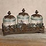 bronze kitchen canisters glass canisters burnished bronze explore similar items
