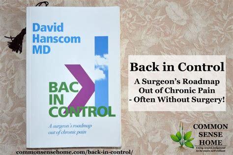 control  surgeons roadmap   chronic pain