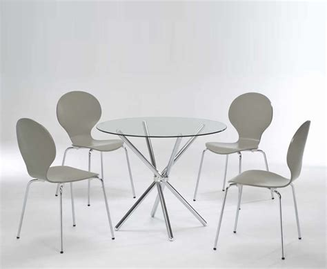 casa glass kitchen table and chairs