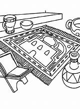 Ramadan Ready Coloring Pages Crayola Colouring Ramadhan Mw sketch template