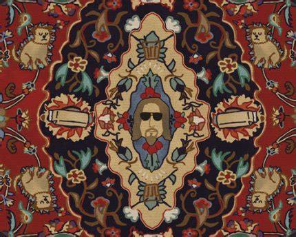 the big lebowski rug the dude s rug mental floss