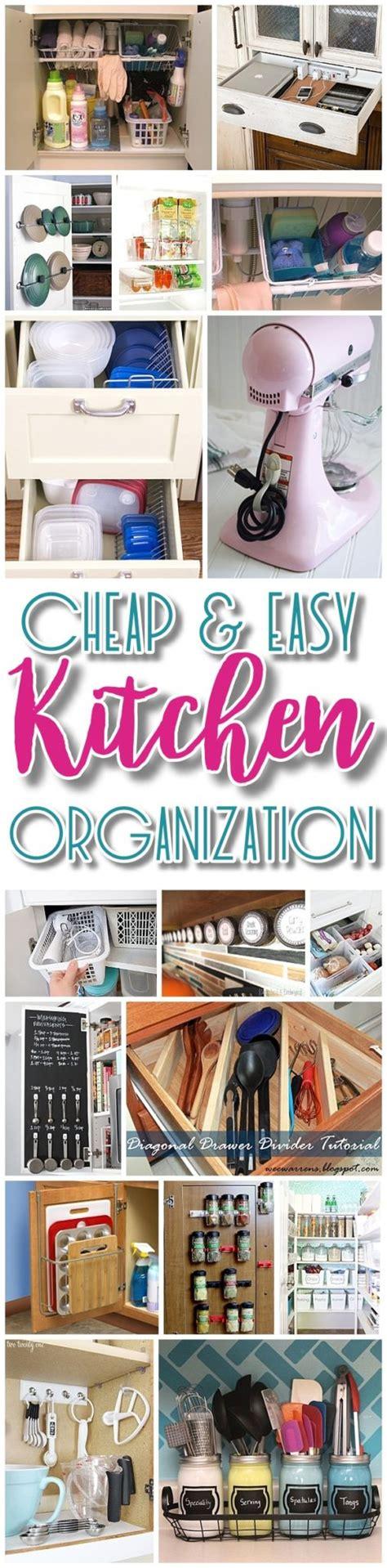 Kitchen Organization Ideas Budget by Easy Budget Friendly Ways To Organize Your Kitchen
