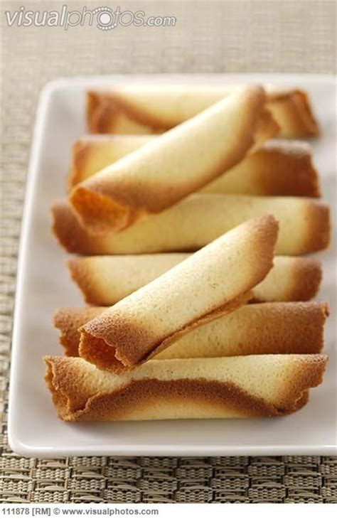Biscuit Tuile by Cigarettes Russe Rolled Tuile Biscuits Of