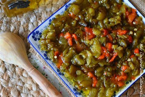 recette cuisine kabyle salade de poivrons kabyle blogs de cuisine