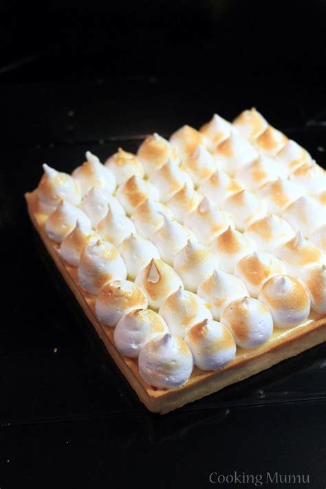 chalumeau pour cuisine tarte au citron meringuée