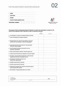 4 pre employment checklist samples templates word pdf With pre employment checklist template