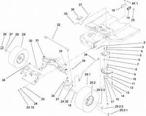 Troy Bilt Riding Mower Steering Part Diagram
