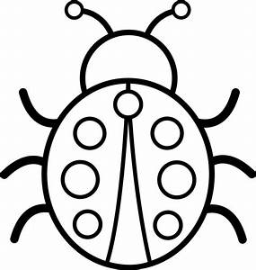 Bug Clip Art Black And White Free | Clipart Panda - Free ...