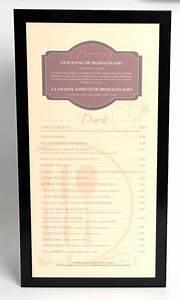 Protege Menu Restaurant : protege menu r v rectangle pochettes brasserie ~ Teatrodelosmanantiales.com Idées de Décoration