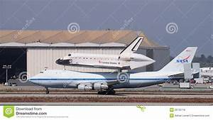 Space Shuttle Endeavour, Los Angeles 2012 Editorial Stock ...