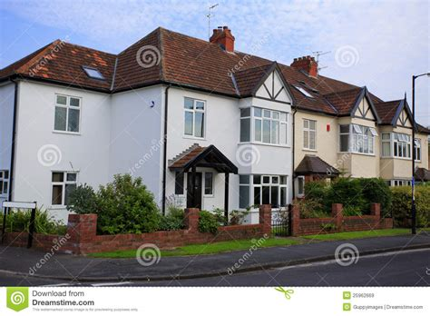 typical  semi detatched house stock image image   detached