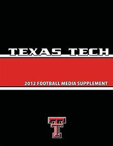 2012 Texas Tech Football Media Supplement By Texas Tech