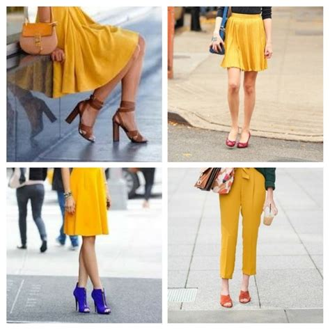 what colors should i wear what colour shoes should i wear with a mustard dress quora