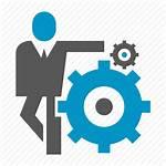 Business Logic Icon Gear Cog Icons Editor