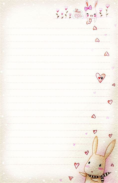 love letter paper printable theveliger