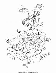 Mtd 14aq816k597  2008  Parts Diagram For Deck Assembly 54