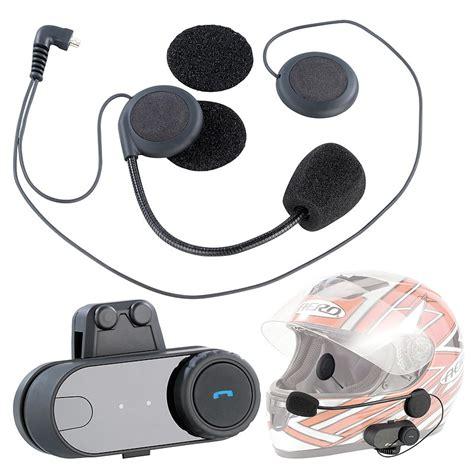 motorrad headset universal headset fuer motorradhelme mit