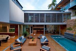 Natural, House, Renovation, With, Outdoor, Lounge