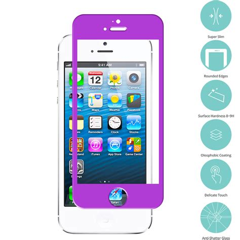 for apple iphone se tempered glass screen protector