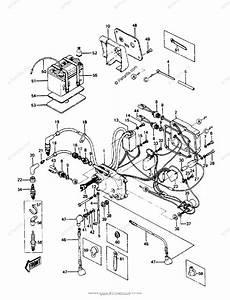 Kawasaki Jet Ski 1987 Oem Parts Diagram For Electric Case