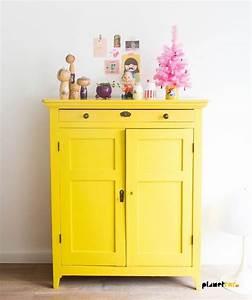 1001 idees meubles peints relooking et deuxieme jeunesse With repeindre un meuble peint