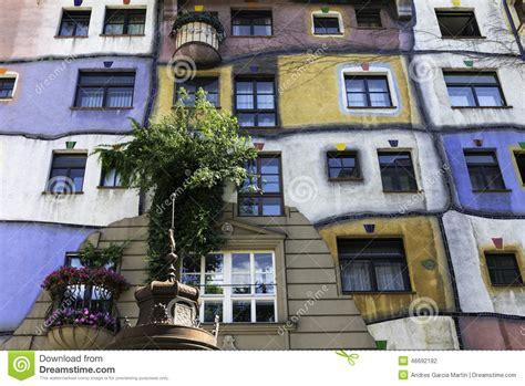 Hundertwasserhaus, Vienna Stock Photo Image Of Creativity