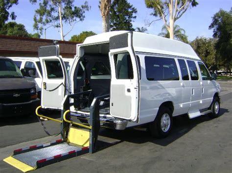 wheelchair assistance wheelchair lift vans