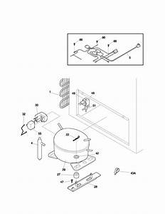 Kenmore 25311541102 Chest Freezer Parts