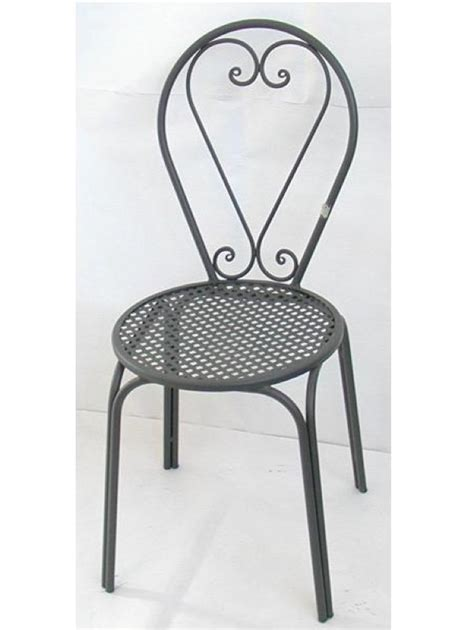 tavoli e sedie da giardino in ferro sedia poltrona in ferro battuto friendly sedie poltrone